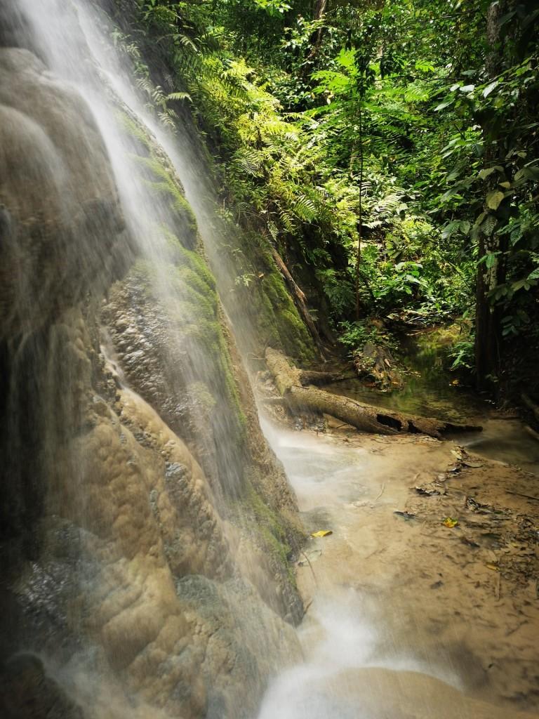 The sticky waterfall Chiang Mai