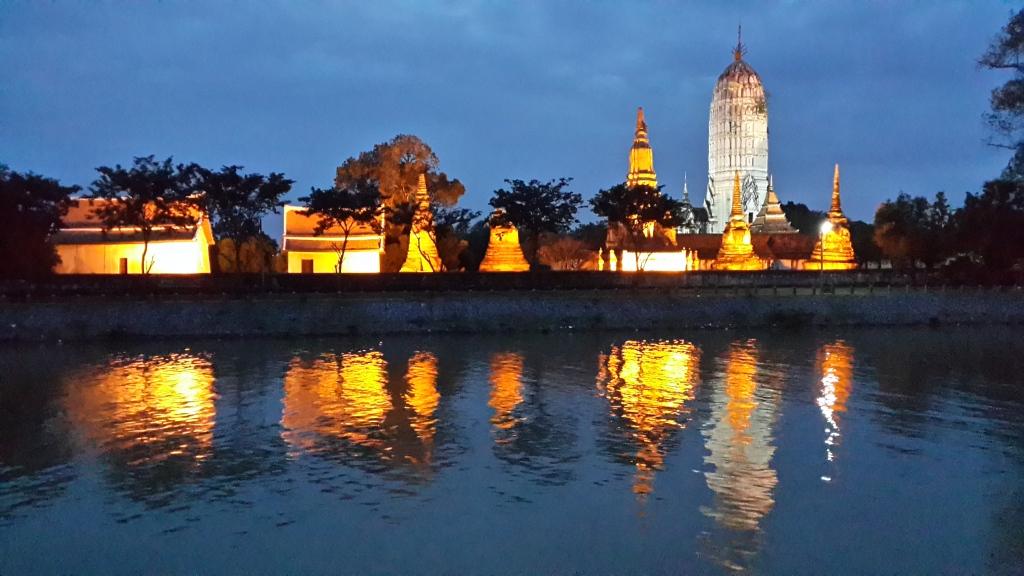 Wat Phuttai Sawan. A temple ruin in Ayutthaya.